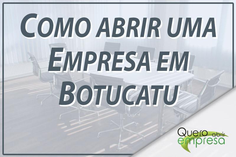 Como abrir uma empresa Botucatu