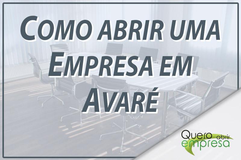 Como abrir uma empresa em Avaré