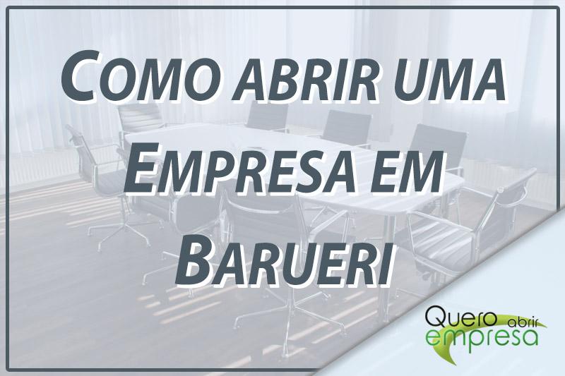 Como abrir uma empresa em Barueri