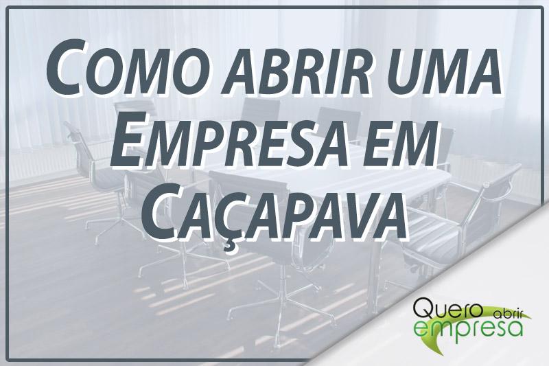 Como abrir uma empresa em Caçapava