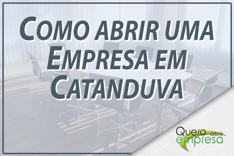 Como abrir uma empresa em Catanduva