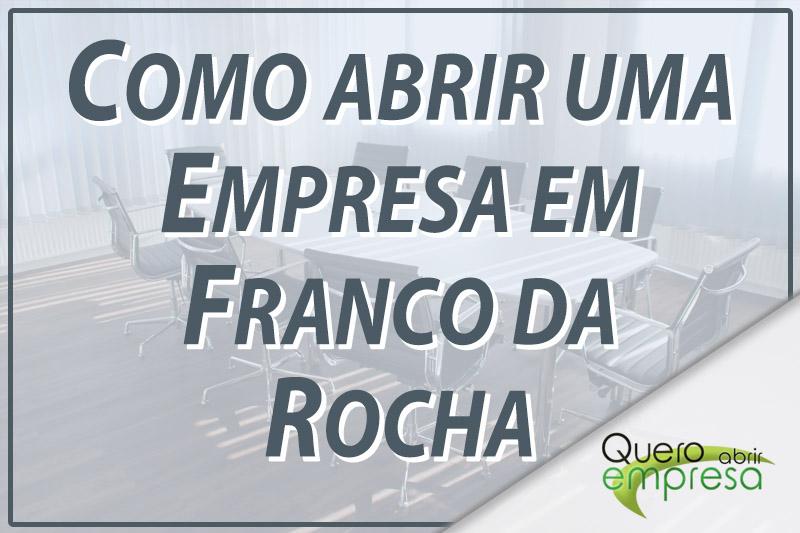 Como abrir uma empresa em Franco da Rocha