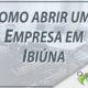 Como abrir uma empresa em Ibiúna