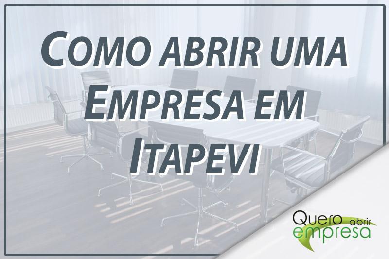 Como abrir uma empresa em Itapevi