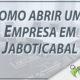 Como abrir uma empresa em Jaboticabal