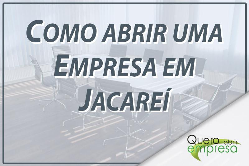 Como abrir uma empresa em Jacareí