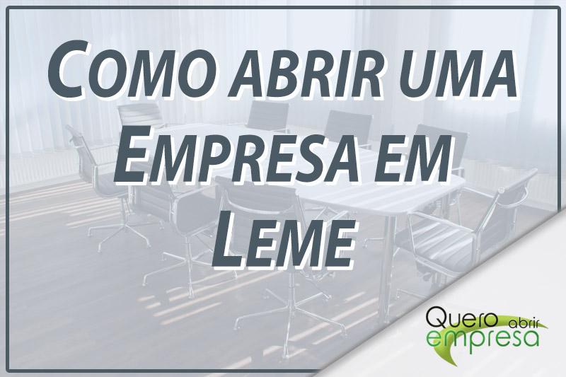 Como abrir uma empresa em Leme