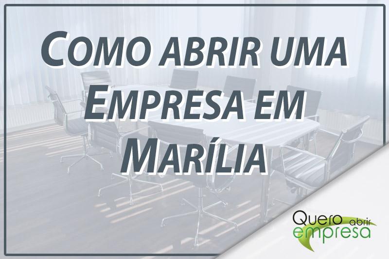 Como abrir uma empresa em Marília