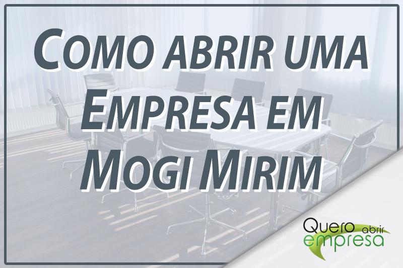 Como abrir uma empresa em Mogi Mirim