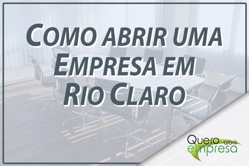 Como abrir uma empresa em Rio Claro
