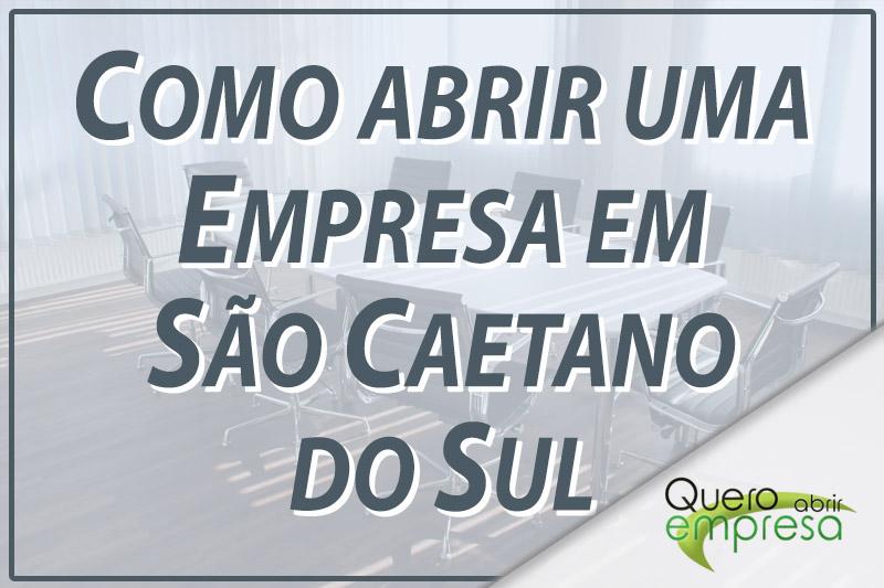 Como abrir uma empresa em São Caetano do Sul