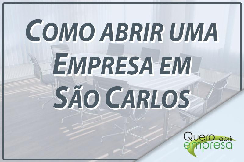 Como abrir uma empresa em São Carlos
