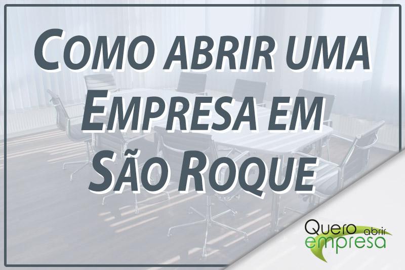Como abrir uma empresa em São Roque