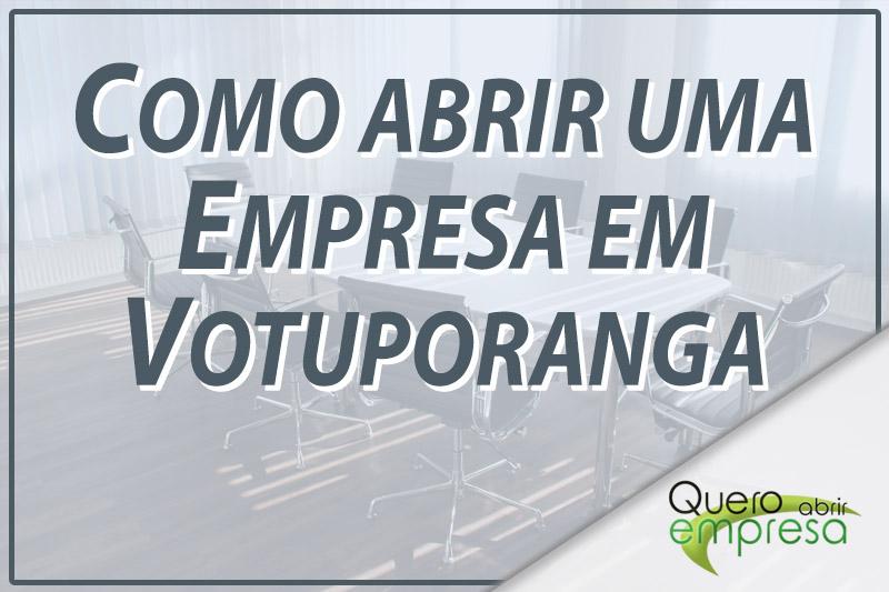 Como abrir uma empresa em Votuporanga
