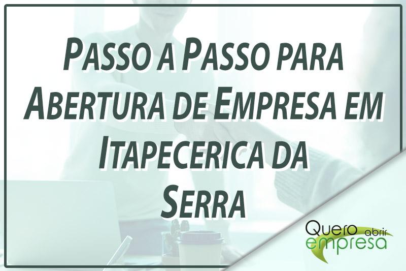 Passo a Passo para abertura de empresa em Itapecerica da Serra