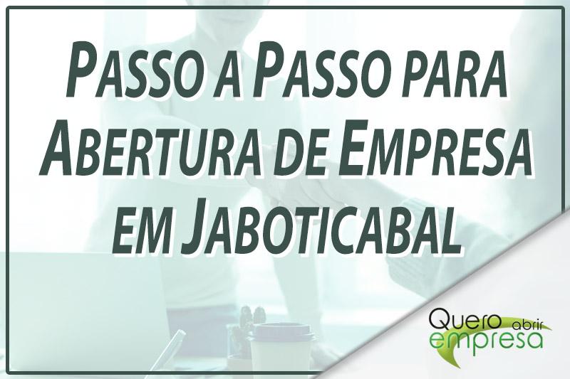 Passo a Passo para abertura de empresa em Jaboticabal