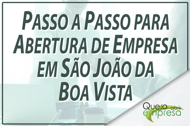Passo a Passo para abertura de empresa em São João da Boa Vista