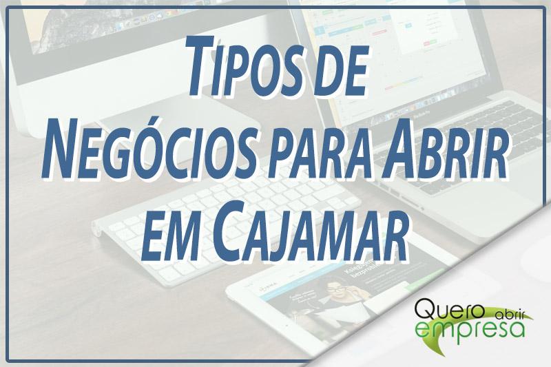 Tipos de Negócios para abrir em Cajamar