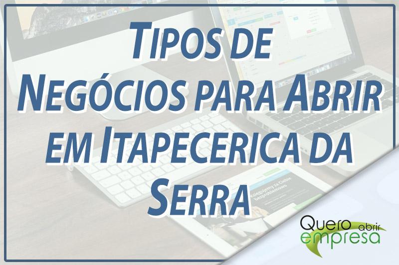 Tipos de Negócios para abrir em Itapecerica da Serra