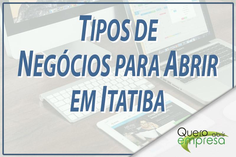 Tipos de Negócios para abrir em Itatiba